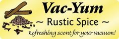 Part: RUSTICSPICE Refreshing scent for your vacuum, as you vacuum. Place 1 tablespoon of inside a new v. Kitchen Vacuum, Best Vacuum, Vacuum Bags, Floor Care, Cinnamon Rolls, Vacuums, Spices, Surface, Chart