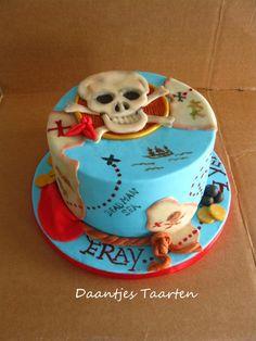 Yo ho Yo ho it's a pirates cake