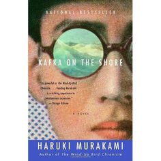 """Kafka on the Shore  """"In traveling, a companion, in life, compassion""""  Excerpt From: Murakami, Haruki. """"Kafka on the Shore."""""""