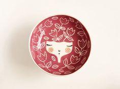CONJUNTO de cerámica hecha a mano 3 tazones por MarinskiHeartmades