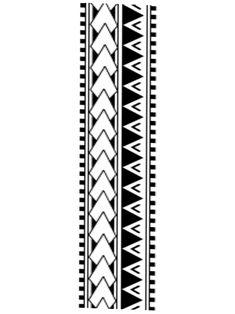 Left Hand Tattoo, Line Tattoo Arm, Leg Band Tattoos, Hand Tattoos, Polynesian Tattoo Sleeve, Hawaiian Tribal Tattoos, Polynesian Tattoo Designs, Maori Tattoo Designs, Tribal Armband Tattoo