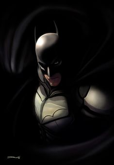 The Dark Knight /// by `DanLuVisiArt on deviantART