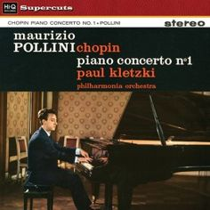 Chopin Piano Concerto No. 1 LP Vinil 180gr Pollini Kletzki Philharmonia Orchestra Hi-Q Supercuts 2015 EU - Vinyl Gourmet