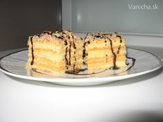 Marlenka 2 Pancakes, Cheesecake, Breakfast, Desserts, Basket, Morning Coffee, Tailgate Desserts, Deserts, Cheesecakes