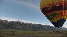 Above Grand Teton; Gliders, Balloons, and Chutes