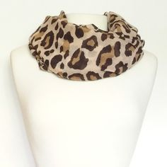 Leopard Infinity Scarf | Lemon Drop Boutique