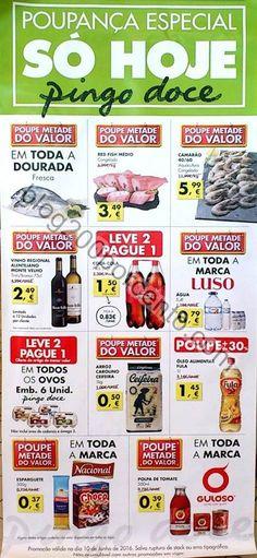 Folhetos e avistamentos PINGO DOCE só hoje - Poupança especial - http://parapoupar.com/folhetos-e-avistamentos-pingo-doce-so-hoje-poupanca-especial/
