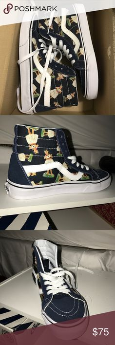 NIB Hula Girl Vans- Size 7 Brand new in the box! Vans Shoes Sneakers 09703383795