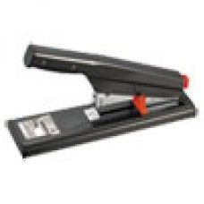 Desk Supplies: Antimicrobial 130-Sheet Heavy-Duty Stapler, 130-Sheet Capacity, Black