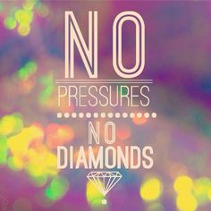 • Pressure makes diamonds • The meaning behind my next tattoo. In the works. Source: @LVFRWLY on Instagram