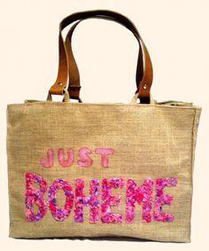 """""""just Boheme pink"""" Beach bags www.sylt-boheme.de"""
