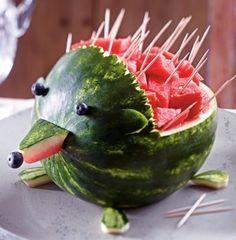 Melonen-Igel Rezept Mehr