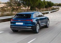 Attendu pour 2018, l'Audi Q6 e-tron Quattro sera le premier modèle 100 % électrique du constructeur
