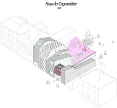 The project Childminders Centre (Haus der Tagesmutter) is the first of four buildings currently under construction as an implementation of the proposal award...