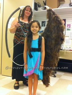 Light-weight wing supports -- Homemade Magnificent Young Maleficent Costume...