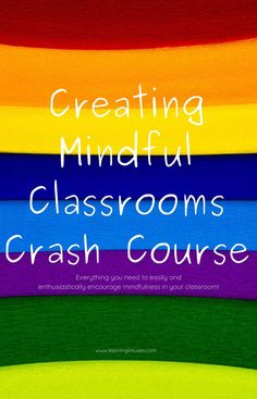 Sign up for the Creating Mindful Classrooms Crash Course and get everything you need to easily and enthusiastically encourage mindfulness in your classroom! Parenting Advice, Natural Parenting, Blog Names, Social Emotional Learning, Attachment Parenting, Yoga For Kids, Alternative Health, Student Learning, Kids Education