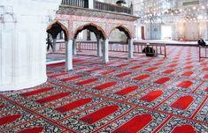 MOSQUE is the trade name for monsoon semi-translucent vinyl. This is an incredibly tough and durable kind of flooring. Its many advantages include: resistance to moisture, temperature control, easy installation. #mosquevinylflooring #bestmosqueflooring #interiordesign #mosqueimprovement #mosquevinylflooringdubai Dubai Airport, Dubai Mall, Pvc Vinyl Flooring, Affordable Carpet, New Year Offers, Blue Mosque, Historical Architecture, Islamic Architecture, Types Of Carpet