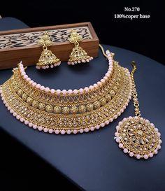 Bridal Jewellery Inspiration, Indian Bridal Jewelry Sets, Indian Jewelry Earrings, Bridal Bangles, Fancy Jewellery, Stylish Jewelry, Choker, Jewelry Design, Tragus