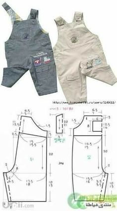 Baby clothes should be selected according to what? How to wash baby clothes? What should be considered when choosing baby clothes in shopping? Baby clothes should be selected according to … Baby Dress Patterns, Baby Clothes Patterns, Sewing Patterns For Kids, Sewing For Kids, Clothing Patterns, Doll Patterns, Fashion Kids, Cute Overalls, Baby Jumpsuit
