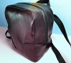 Leather Rucksack, Burgundy leather bag, Women backpack,Backpack purse, Leather backpack, Travel backpack, Zipper backpack , Travel rucksack #TravelBackpack #WomenRucksack #SimpleBackpack #WomenBackpack #ItalianLeatherBag #ZipperBackpack #BurgundyLeatherBag #LeatherRucksack #RedLeatherBag #LeatherBackpack Backpack Purse, Travel Backpack, Leather Backpack, Leather Bag, Smooth Leather, Burgundy, Backpacks, Purses, Zipper