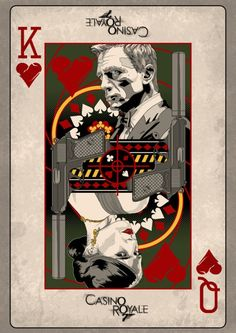 'Casino Royale' minimalist movie poster