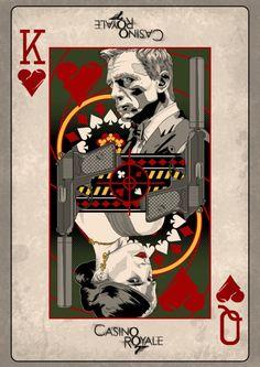 'Casino Royale' minimalist movie poster