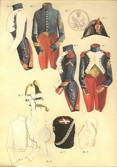 GRANADERO A PIE DE LA VIEJA GUARDIA EN 1807