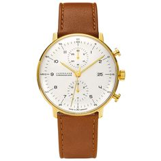 HAUS - Max Bill 027/7800.00 Chronoscope watch by Junghans