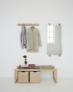 Cutter Mini Wardrobe - Oak