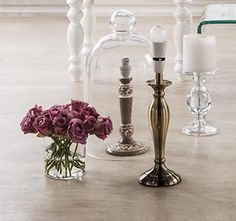 Glass with Class-whether its a candle holder or an elegant vase! Home Online Shopping, Mr Price Home, Buyers Guide, Candle Holders, New Homes, Vase, Candles, Elegant, Design
