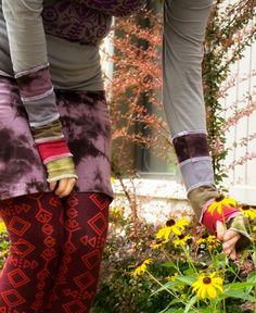 Organic Patch #Wristlets and tribal print leggings