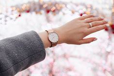 Julian Matthews One Classic Rose Gold watch by lesyasolo Pink Fashion, Style Fashion, Pink Style, Daniel Wellington, Gold Watch, Competition, Rose Gold, Classic, Gifts
