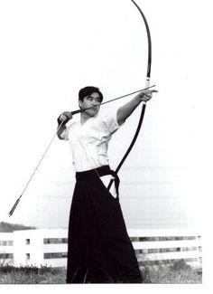 Japanese martial art Kyudo