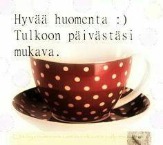Good Morning, Tea Cups, Coffee, Night, Tableware, Red, Buen Dia, Kaffee, Dinnerware
