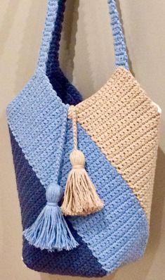 THE MOST WONDERFUL FREE CROCHET BAG MODELS 2019 - Page 17 of 28 - hairstylesofwomens. com crochet patterns; Free Crochet Bag, Crochet Market Bag, Crochet Handbags, Tunisian Crochet, Crochet Purses, Crochet Clutch, Crochet Gifts, Crochet Bags, Crochet Beach Bags