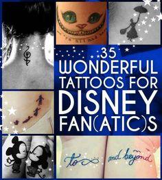 35 Wonderful Disney Tattoos