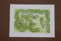 tube print 1 circles home decor one of a kind