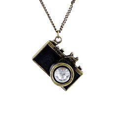 Camera Photography Necklace