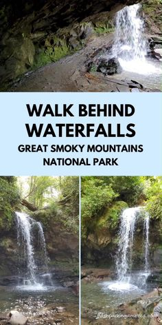 Hike to waterfalls in Great Smoky Mountains National Park - US vacation places