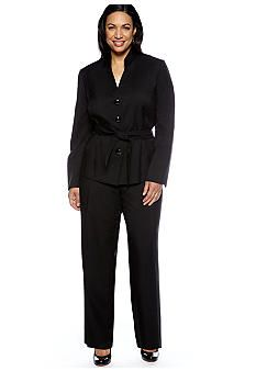 Double Breasted Pantsuit | Plus Size Pant Suits | Jessica London ...