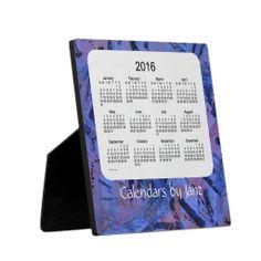 2016 Desk Calendar by Janz Blue Tracks