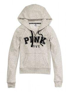 Victoria's Secret PINK Perfect Zip Hoodie