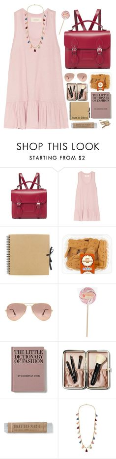 """""""Untitled #77"""" by yyvonne881038 ❤ liked on Polyvore featuring The Cambridge Satchel Company, The Great, Ray-Ban, Bobbi Brown Cosmetics, Ben-Amun, backpack and inmybackpack"""