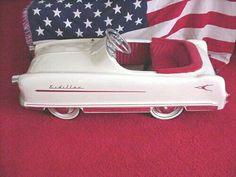 USA pedal car