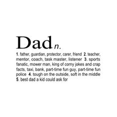 One day my kids will have the best father in the world. There is no doubt about that :):