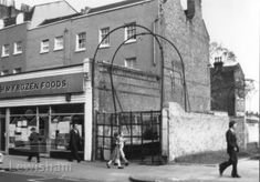 London History, Forest Hill, Vintage Pictures, Entrance, Old Things, Street View, Black And White, Photographs, Photos
