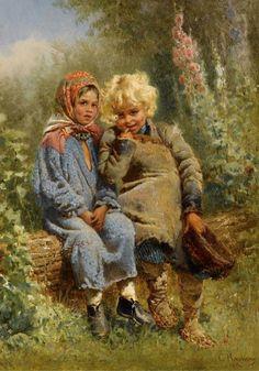 malířství - obrazy dětí - Hledat Googlem
