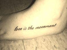 Got a tattoo. TWLOHA.