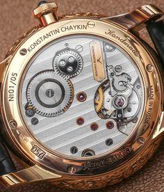 Konstantin Chaykin Carpe Diem Hour Glass Watch Hands-On