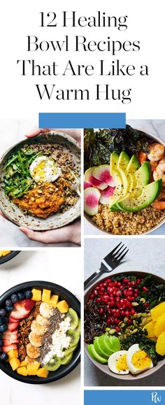 12 Healing Bowl Recipes That Are Like a Warm Hug – Yemek Tarifleri – Resimli ve Videolu Yemek Tarifleri Healthy Crockpot Recipes, Lunch Recipes, Healthy Dinner Recipes, Vegetarian Recipes, Cooking Recipes, Vegan Vegetarian, Vegan Food, Clean Eating, Healthy Eating